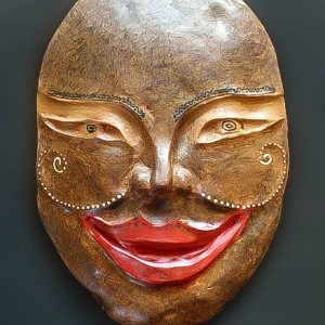 mask for art and craft category post