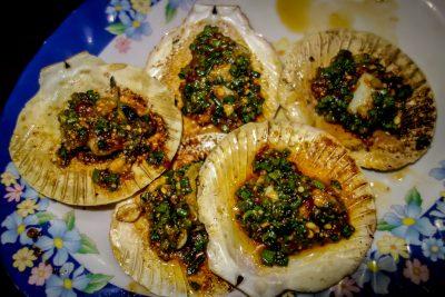 A Roi Seafood restaurant Hoi An_scallops