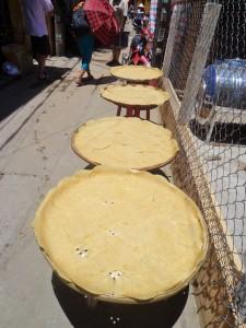 Street Food Guide: Safari Barney. Hoi An. drying pancakes?