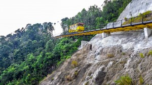 Tramway on mountain Ba Na Hills Resort