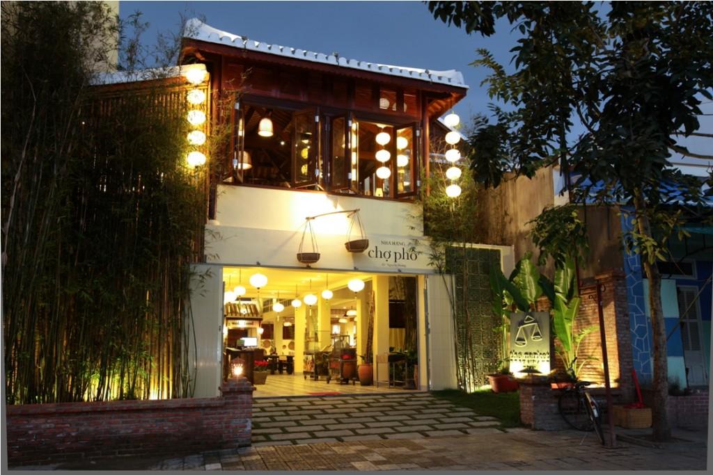 Market Cooking School and Restaurant exterior, Hoi An