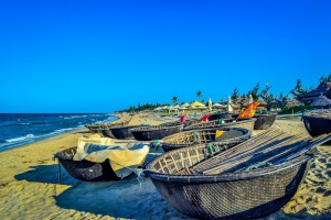 Hoi An's Hidden Beach.Basket Boats (1) (1 of 1)