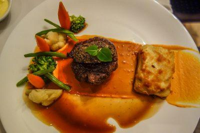 L'aubergine 49. fillet of beef, Hoi An Restaurant