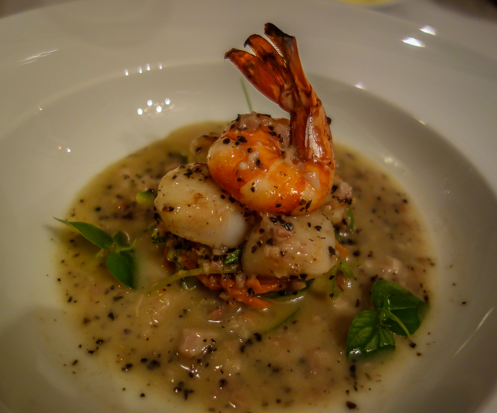 L'aubergine 49. prawns and scallops, Hoi An Restaurant
