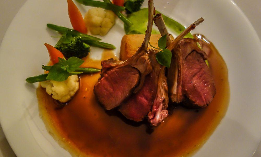 L'aubergine 49. rack of lamb, Hoi An Restaurant