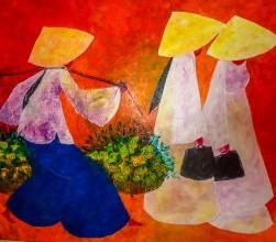 Nocturnal Artist painting (2), Hoi An Restaurant