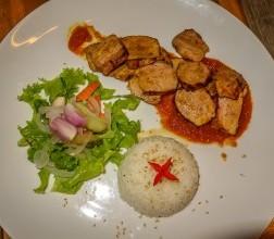 The Little Menu $$: french café serving authentic Vietnamese food