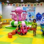Playground indoors, kids, children, toddlers, Da Nang, Vietnam, VinKE