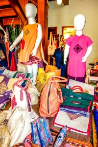 Village Craft Planet, HOi An Old Town, Inside shop, childrens clothes and accessories