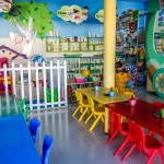 Playzone for Kids, painting area, indoor playground for children