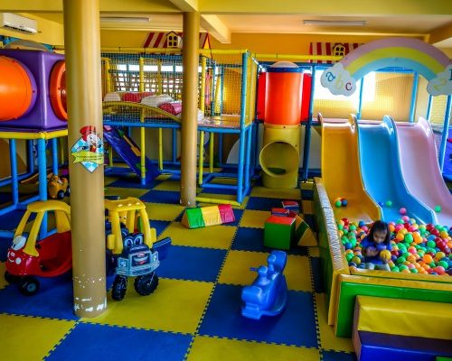 Play Zone for Kids, indoor play centre, hoi an children amusements train climbing aparatus