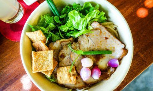 Mai Fish Restaurant, Hoi An. Cau Lau
