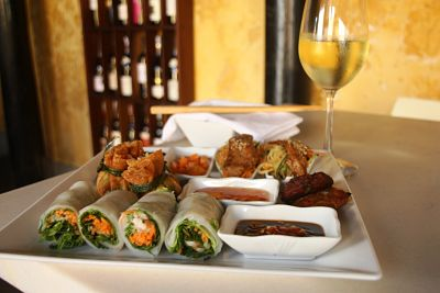 White Marble Wine Bar and Restaurant tasting platter