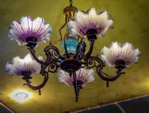Ceiling Light 2, Am Vegetarian restaurant, Hoi An