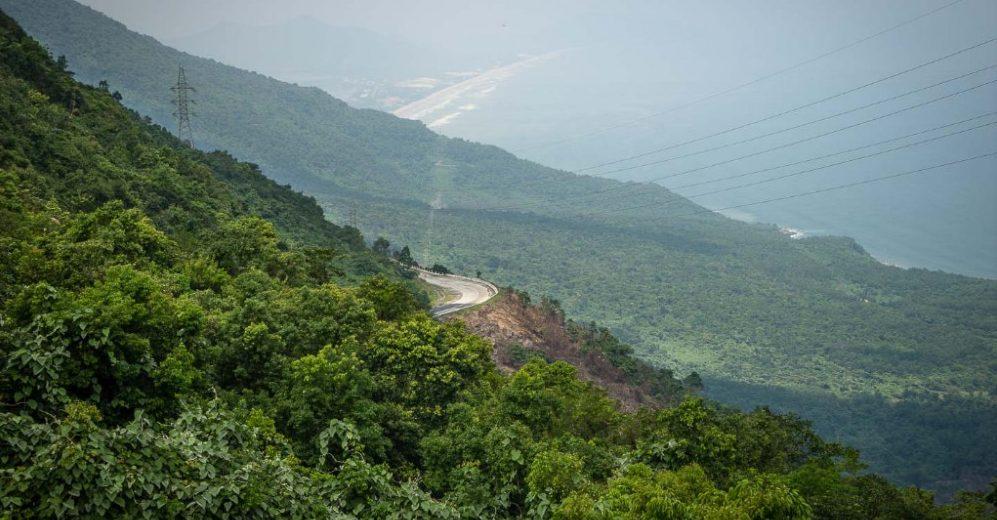 Roads at Hai Van Pass