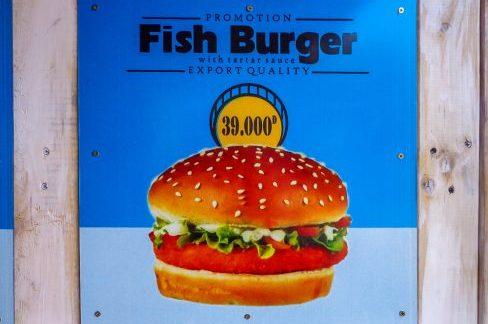 Jim's Snackbar, Fish Burger, Hoi An