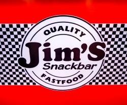Jim's Snackbar, logo, Hoi An