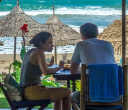 La Plage, 2 diners, An Bang Beach, Hoi An