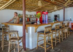La Plage, Matty in the bar, An Bang Beach, Hoi An