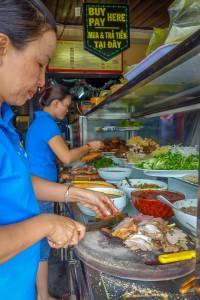 Preparing Banh Mi, Banh Mi Phuong, Hoi An