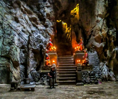 Cave Marble Mountain, Hoi An, Da Nang Activities things to do, tours