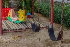 swings, Dingo Deli, Hoi An