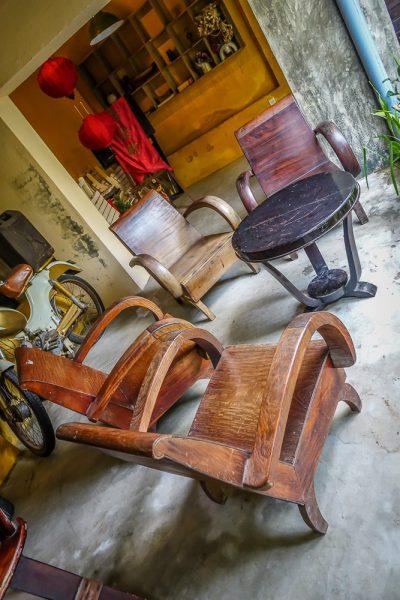 Cafe Le Fe, Hoi An, chairs 1