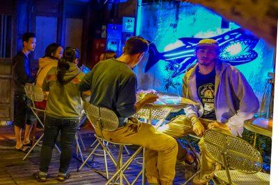Dive Bar, Hoi An, back bar 1