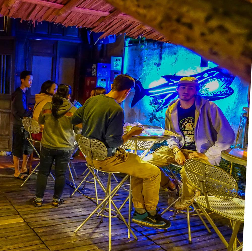 Dive Bar, Hoi An, back bar