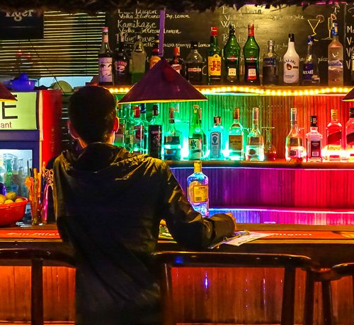 Dive Bar, Hoi An, back bar 3
