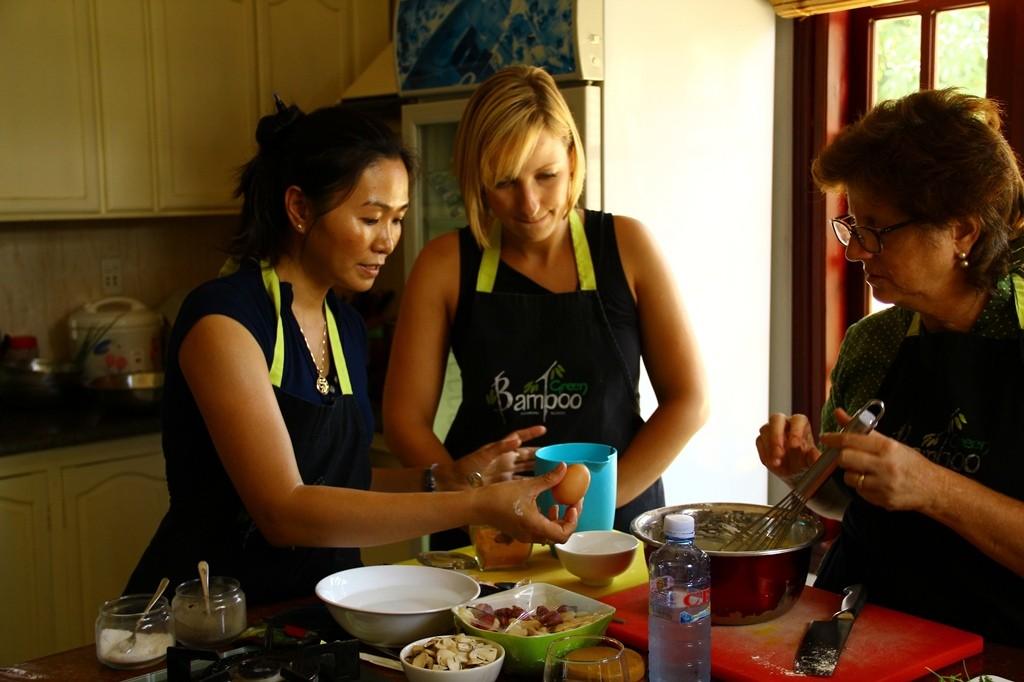 Green Bamboo Cooking School, Hoi An