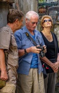 Hoi An Photo Walks. Pieter advises client 1