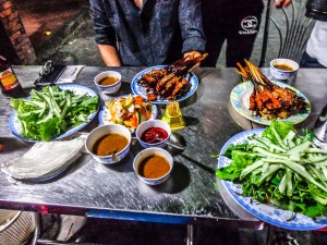 bale well restaurant, hoi an, vietnam, dining, food