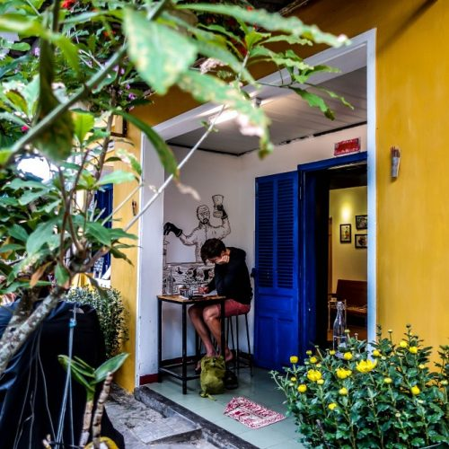 Espresso Station, Hoi An, Vietnam, coffee cafe