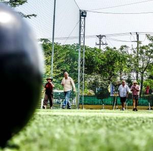 Social Scene. Hoi An social club lawn bowls, vietnam, games,