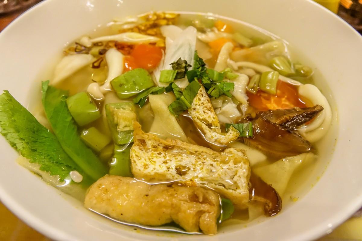 Minh Hien 2, Hoi An Restaurant, wonton soup
