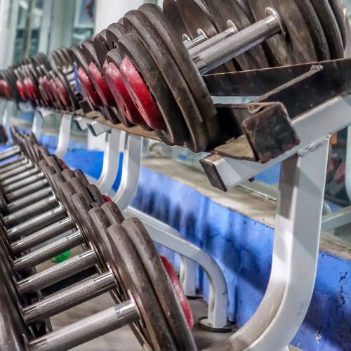 Gym Directory. Fitness Centers in Hoi An. Nguyen Viet Toan Bodybuilding Club and Fitness Center, Hoi An, dumbells 1