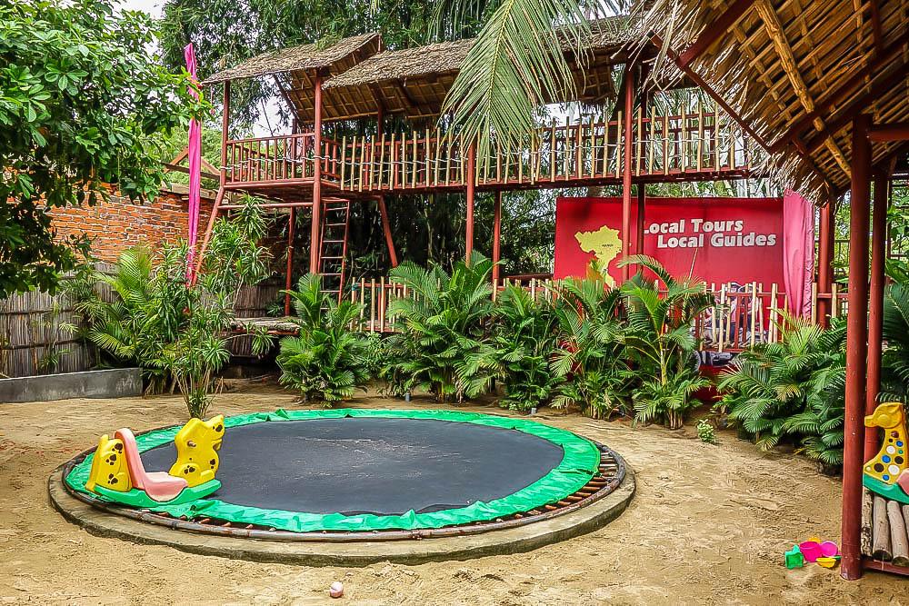 kid friendly restaurants, hoi an, vietnam; playgrounds for kids hoi an, vietnam; kids activities hoi an, vietnam