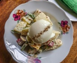 Nu Eatery, Hoi An, potato salad with boiled egg, olives and beans_opt - Copy