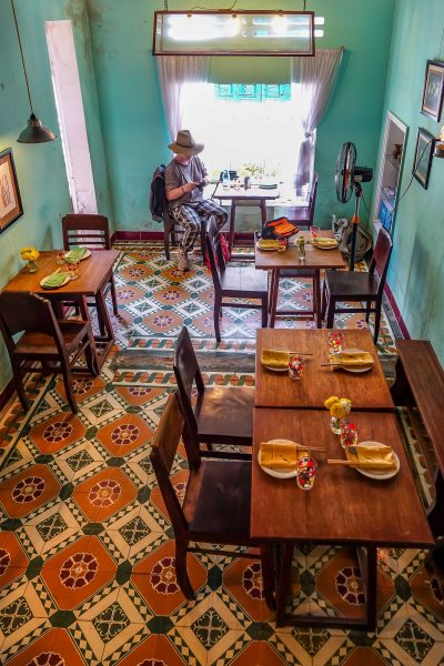 Nu Eatery, Hoi An, small table dining area