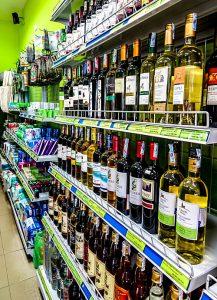 A Mart, Hoi An, Vietnam wine selection