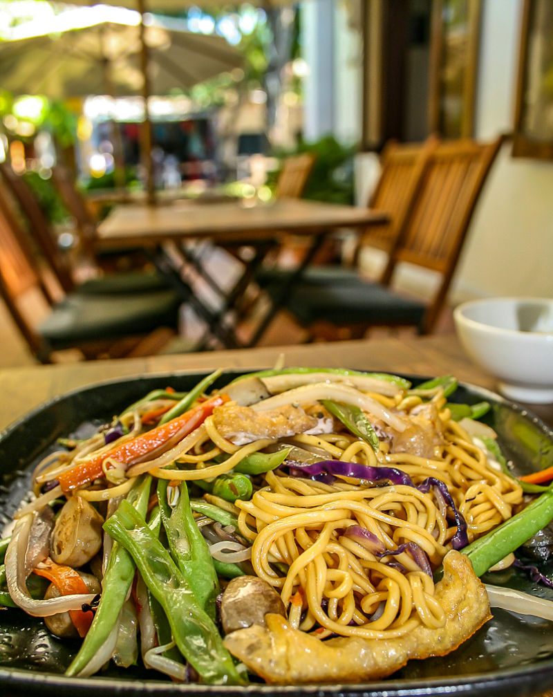 Annen Vegetarian Restaurant, Hoi An, noodles with vegetables_opt