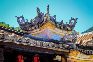 Cham island, Temple roof_opt