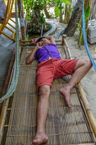 Felina Cantina, Hoi An, staff siesta