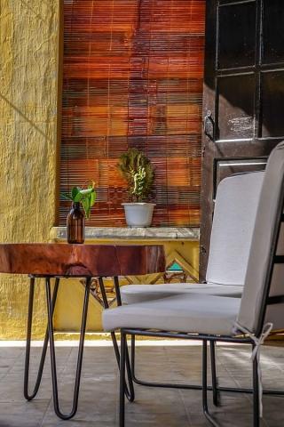 Rosie's Cafe, Hoi An, veranda setting
