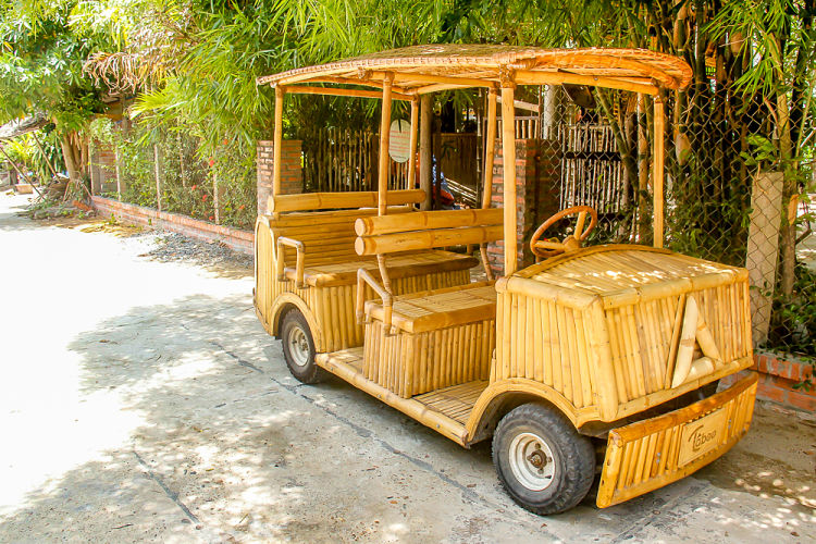 Taboo Bamboo Hoi An, bamboo car_opt