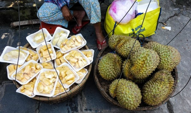 Durian, the foulest smelling fruit known to man! Hoi An Now, Hoi An