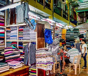 Hoi An Cloth Market, Hoi An, Vietnam, material, fabric, buy material
