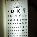 Sai Gon Optical, Hoi An, eyes checking board
