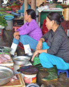 Central market, Hoi An, Fish market